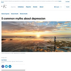 5 common myths about depression