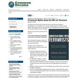 4 Common Myths about the War on Terrorism | CommonDreams.org