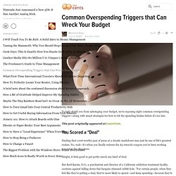 Common Overspending Triggers that Can Wreck Your Budget