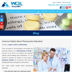 Common Myths About Pharmacists Debunked