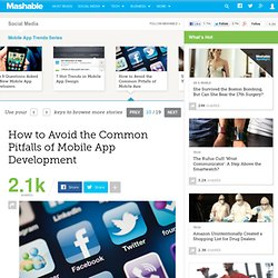 How to Avoid the Common Pitfalls of Mobile App Development