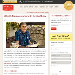 5 Common Risks for Seniors with Cerebral Palsy