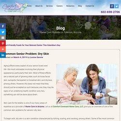 Common Senior Problem: Dry Skin