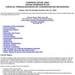 Common Sense 2001