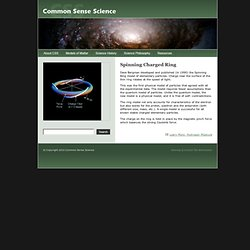 Common Sense Science | Spinning Ring