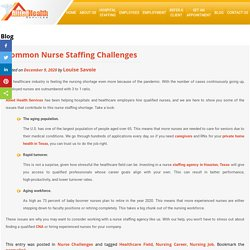 Common Nurse Staffing Challenges