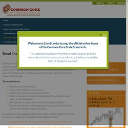 Common Core. ORG