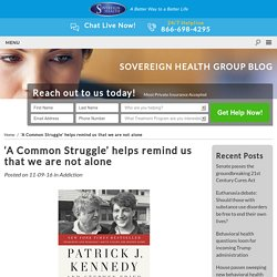 'A Common Struggle' helps remind us that we are not alone