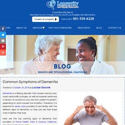 Common Symptoms of Dementia