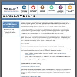 Common Core Video Series