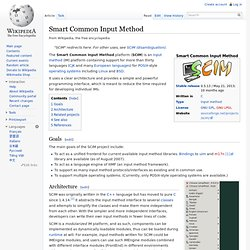 Smart Common Input Method