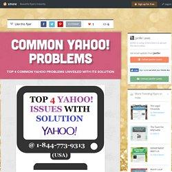Common Yahoo! Problems