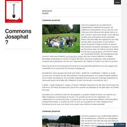 Commons Josaphat ?