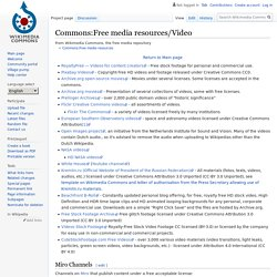 Commons:Free media resources/Video