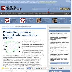 Commotion, un réseau Internet autonome libre et gratuit.