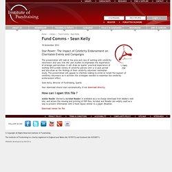 Fund Comms - Sean Kelly