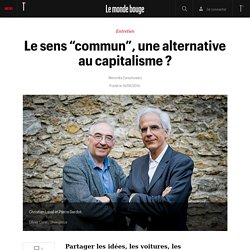 "Le sens ""commun"", une alternative au capitalisme ?"