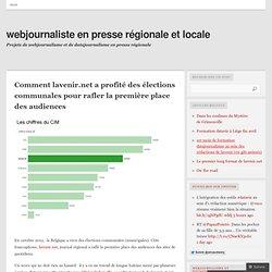 Comment lavenir.net a profité des élections communales pour rafler la première place des audiences