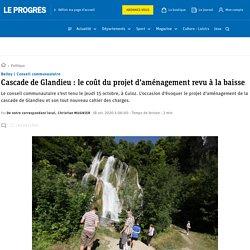 Conseil communautaire. Cascade de Glandieu: le coût du projet d'aménagement revu à la baisse