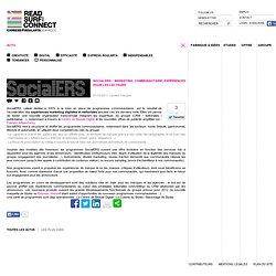SocialERS : marketing communautaire, expériences pour les lecteurs