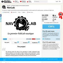 NavLab présenté par NavLab - un FabLab nautique communautaire