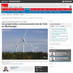 Un projet éolien communautaire bat de l'aile en Montérégie