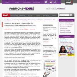 Réseaux Sociaux et Entreprises : la Formation d'un Pacte Communautaire