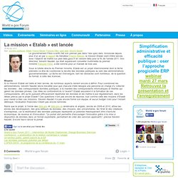 La mission « Etalab » est lancée « World e.gov forum