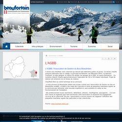 L'AGBB - Communauté de Communes du Beaufortain - Site officiel