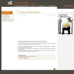 Communauté de communes Au Pays de la Roche aux Fées - Le réseau des bibliothèques