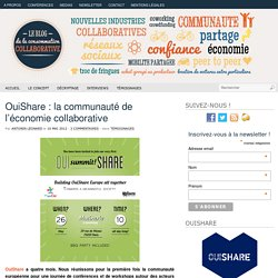 OuiShare : la communauté de l'économie collaborative