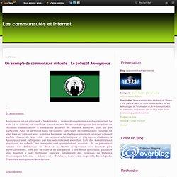 Un exemple de communauté virtuelle : Le collectif Anonymous - Les communautés et Internet