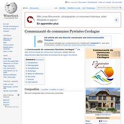 Communauté de communes Pyrénées Cerdagne