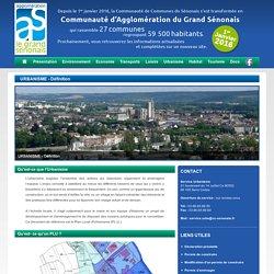 Communauté de communes du sénonais - URBANISME - Définition