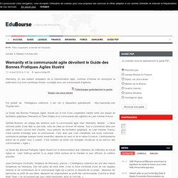 Wemanity et la communauté agile dévoilent le Guide des Bonnes Pratiques Agiles Illustré