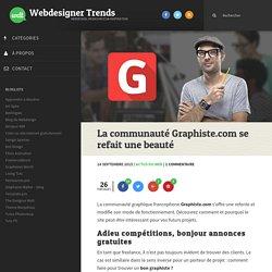 La communauté Graphiste.com se refait une beauté