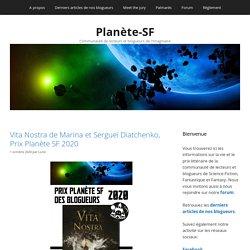 Planète-SF – Communauté de lecteurs et blogueurs de l'Imaginaire