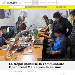 Le Népal mobilise la communauté OpenStreetMap après le séisme