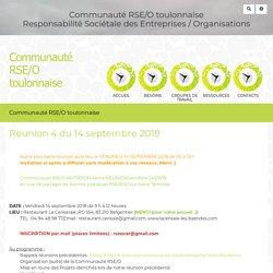 Communauté RSE/O toulonnaise : ReuNion4