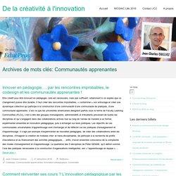 Communautés apprenantes – De la créativité à l'innovation