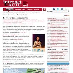 Le retour des communautés | InternetActu.net