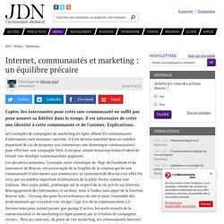 Internet, communautés et marketing : un équilibre précaire