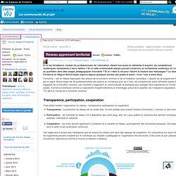 compétences numériques prof & réseau apprenant sur 1 territoire...
