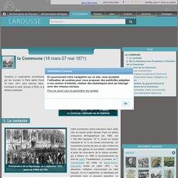 la Commune 18 mars-27 mai 1871
