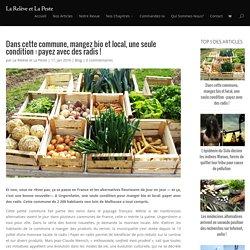 Dans cette commune, mangez bio et local, une seule condition : payez avec des radis !