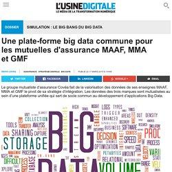Une plate-forme big data commune pour les mutuelles d'assurance MAAF, MMA et GMF