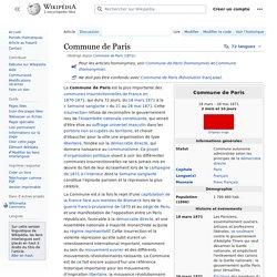 Commune de Paris (1871)