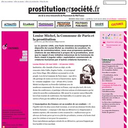 Louise Michel, la Commune de Paris et la prostitution