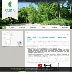 « Zéro phyto » dans les communes… prévu pour 2020 ! - Syndicat Mixte des Rivières du Beaujolais - Site officiel