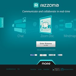 Rizzoma — communicate and collaborate in realtime